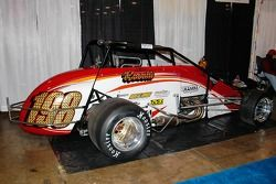Mike Roselli's #198 Silver Crown car.
