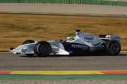 Nick Heidfeld prueba el BMW Sauber F1.06