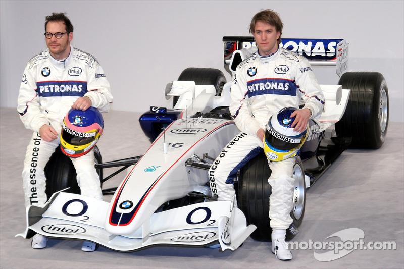Jacques Villeneuve ve Nick Heidfeld ve BMW Sauber F3.06