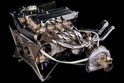 BMW M12/13 Formula-1-turbocharged engine 1983, World Champion in Brabham BT52 with Nelson Piquet