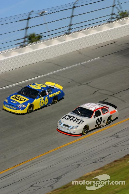 Jeff Green et Carl Edwards