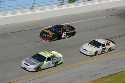 Kyle Busch, Jamie McMurray and Kyle Petty