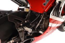 Detail of the new Ducati Desmosedici GP6