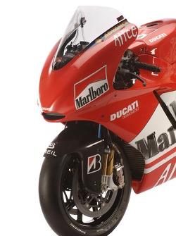 Détail de la nouvelle Ducati Desmosedici GP6
