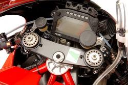 Detalle de la nueva Ducati Desmosedici GP6