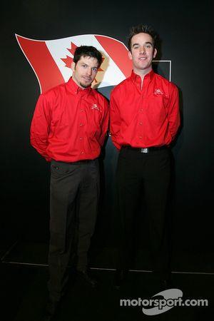 Patrick Carpentier et Sean McIntosh