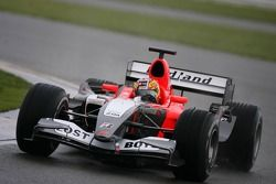 Tiago Monteiro teste la Midland MF1 Toyota