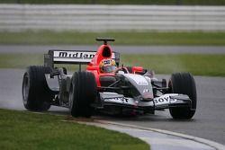 Tiago Monteiro test ediyorMidland MF1 Toyota