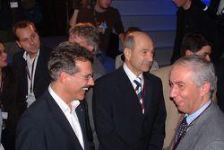 Mario Theissen et Peter Sauber