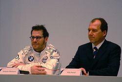 Jacques Villeneuve et Willy Rampf