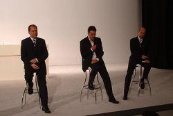 Willy Rampf, Mario Theissen et Peter Sauber
