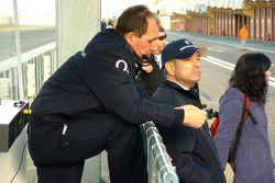 Willy Rampf and Peter Sauber