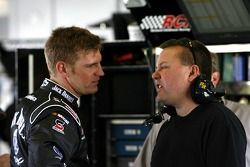 Clint Bowyer and crew chief Gil Morgan