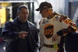 Kevin Lepage and Dale Jarrett