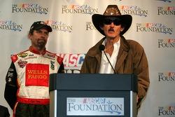 Conférence de presse de la NASCAR: Kyle Petty et Richard Petty