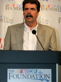 Conférence de presse de la NASCAR: le président Mike Helton