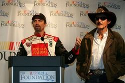 NASCAR Foundation press conference: Kyle Petty and Richard Petty