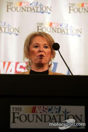 NASCAR Foundation press conference: Betty Jane France