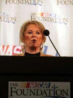 Conférence de presse de la NASCAR: Betty Jane France