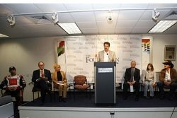 NASCAR Foundation press conference: NASCAR President Mike Helton