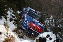 Citroen Xsara WRC Себастьена Лёба после аварии