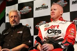 Champ Car driver Paul Tracy and car owner Frank Cicci announce Tracy's intention to drive five races