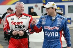 Paul Tracy et Aaron Fike