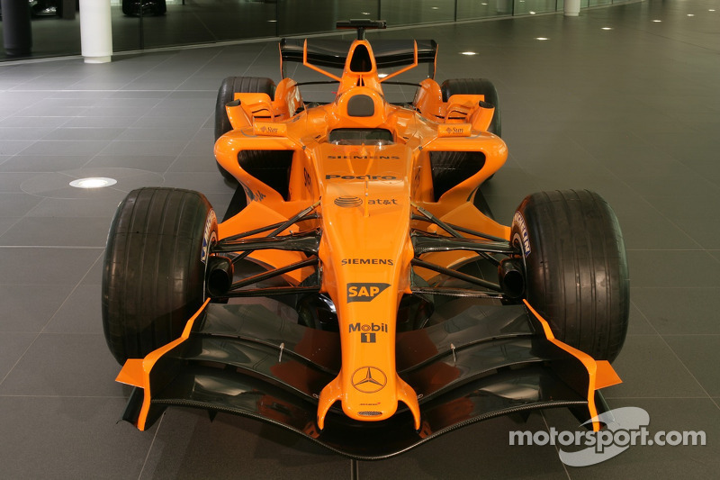 yeni McLaren MP4-21, McLaren Technology Center