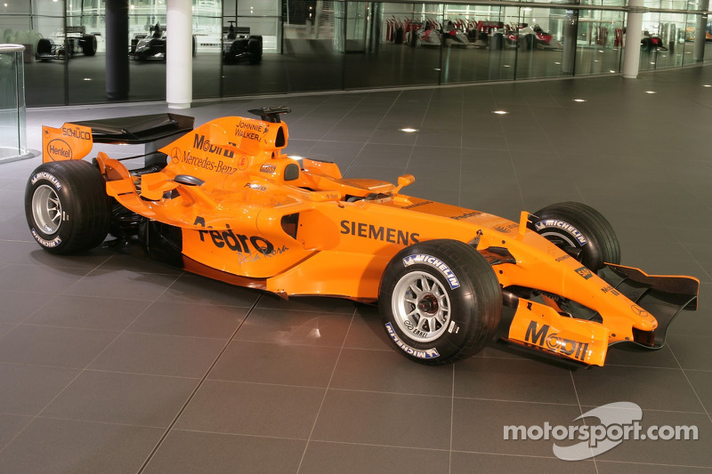 yeni McLaren MP4-21, McLaren Technology Center