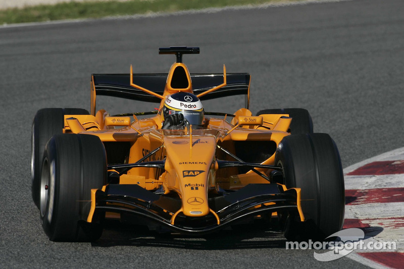 McLaren MP4-21 (2006, solo test)