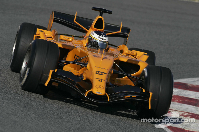 Pedro de la Rosa, McLaren MP4/21 (2006) (test)