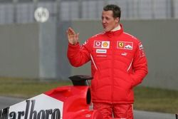 Michael Schumacher ve yeni Ferrari 248 F1