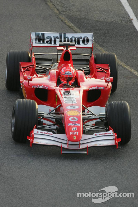The New F1 Canna Cannova Is Set To Take Cannas To A New: Michael Schumacher Tests The New Ferrari 248 F1 At Ferrari