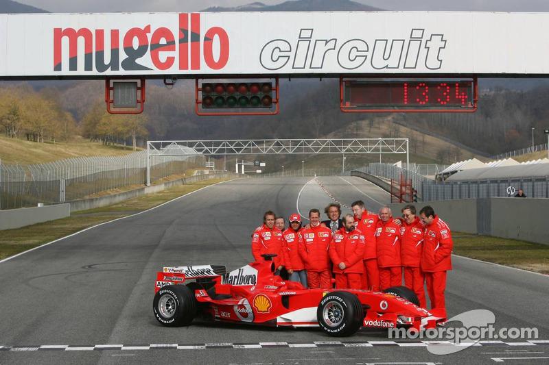 Presentación de la Ferrari 248F1 de 2006