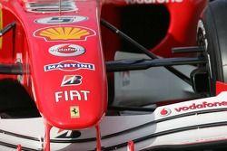 Détail de la Ferrari 248 F1