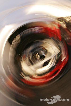 Artistic impression of the BMW M3 engine