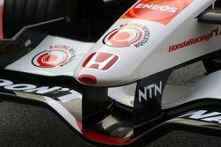Détails de la nouvelle Honda Racing RA106