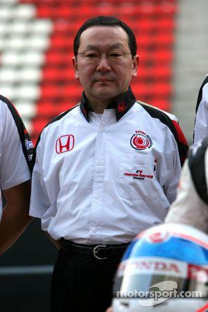 Yashurio Wada, le président de Honda Racing Development