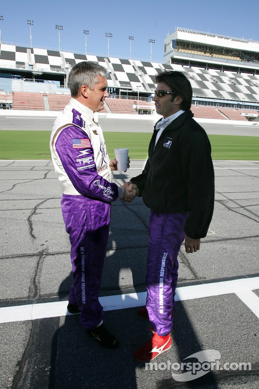Eddie Cheever et Christian Fittipaldi