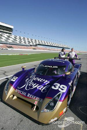 Cérémonie Speedweeks 2006: #39 Cheever Racing Lexus Crawford: Eddie Cheever, Christian Fittipaldi, P