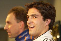 Lucas Luhr, pole sitter for #23 Alex Job Racing