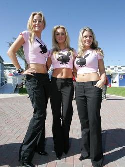Playboy Racing photoshoot: lovely playmates
