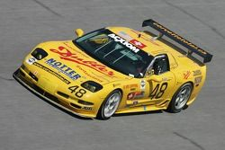 #48 WTF Engineering Corvette: Hans Hauser, Robert Dubler, Toni Seiler, Michael DeFontes