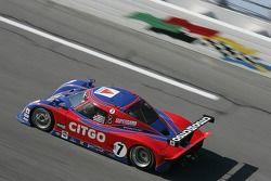 #7 CITGO Racing by SAMAX Pontiac Riley: Milka Duno, Dario Franchitti, Marino Franchitti, Kevin McGar