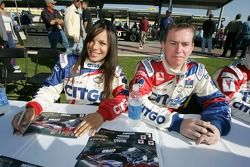 Milka Duno and Kevin McGarrity