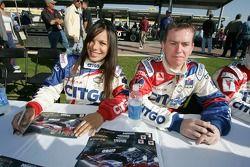 Milka Duno et Kevin McGarrity
