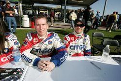 Kevin McGarrity and Marino Franchitti