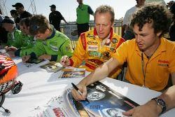 Terry Borcheller and Michel Jourdain