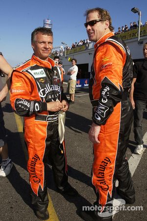 Jan Lammers et Rusty Wallace