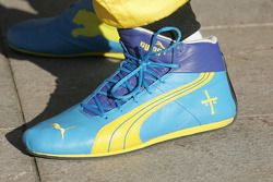 Racing shoes, Heikki Kovalainen